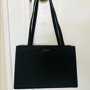 Vintage 90s BLACK Kate Spade Sam hand bag